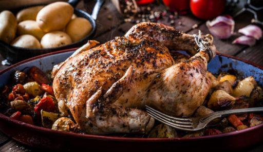 pollo al microondas recetas