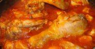 pollo a la cacerola tradicional