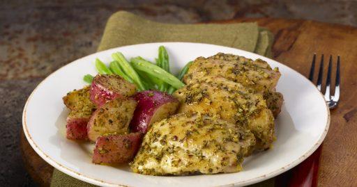 recetas 2230 pollo a la mostaza y el limon