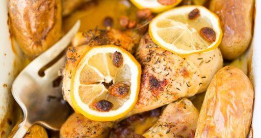 pollo a la mostaza al horno receta