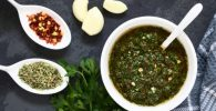 salsa chimichurri verde 500x334