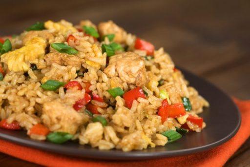 arroz con pollo facily rapido