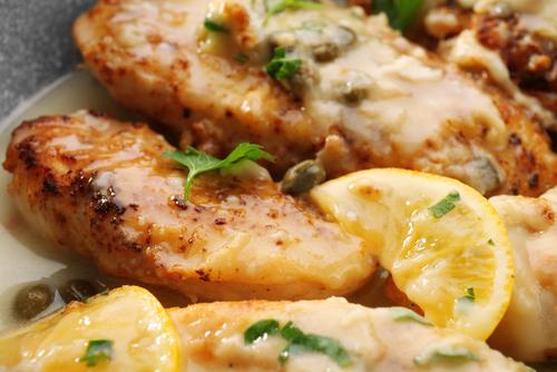 pollo al limon en olla paso a paso