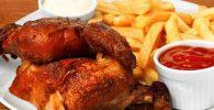 pollo frito estilo peruano receta