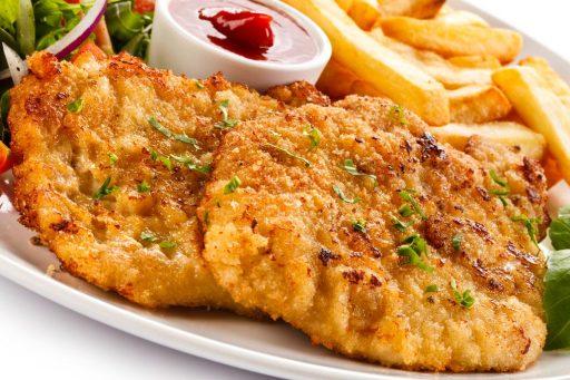 milanes de pollo receta
