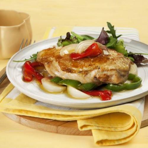 pollo al microondas en bolsa receta