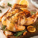 pollo al horno con limón receta