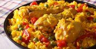 paella de pollo receta
