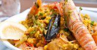 paella de pollo y mariscos receta