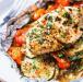 pollo al horno en papel alumino receta