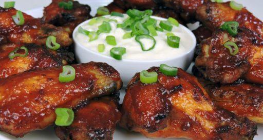 alitas de pollo a la barbacoa receta