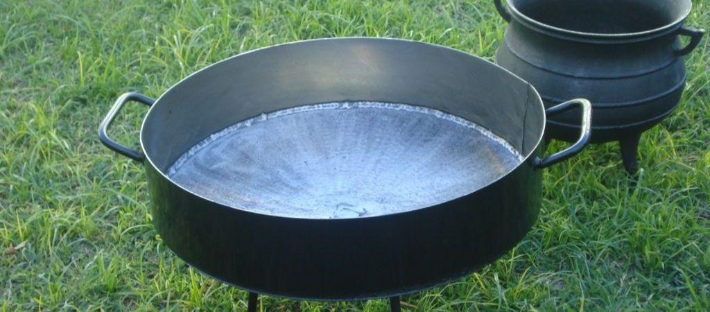 disco de arado para hacer pollo al disco y olla de fundicion
