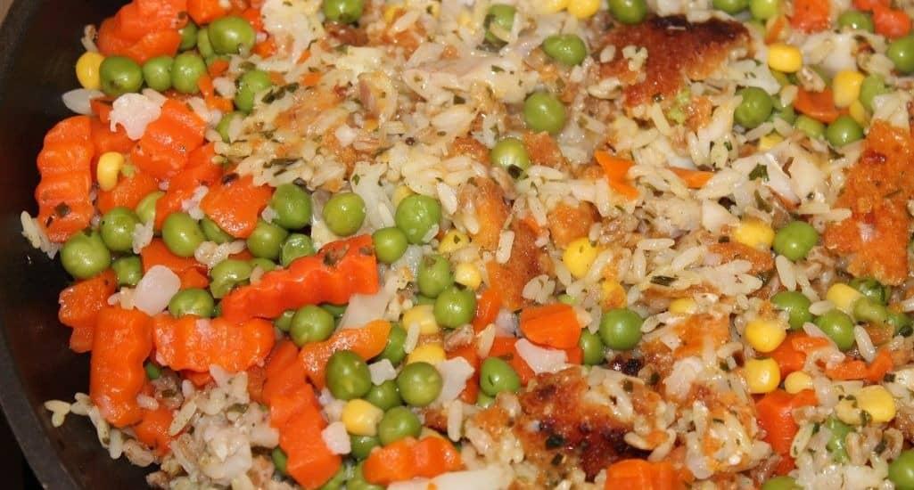 arroz con pollo receta sin alcohol