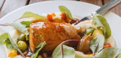 pollo asado a la mostaza y miel receta