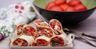 wraps con pollo